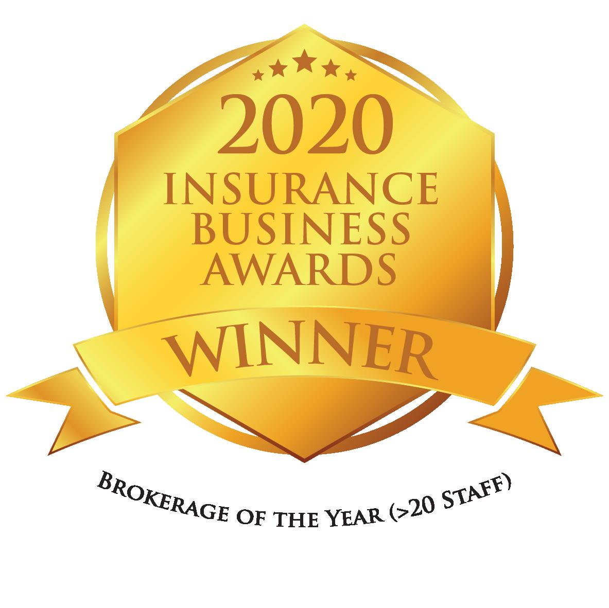 IBAu - Gold winner_Brokerage of the Year (20 Staff)